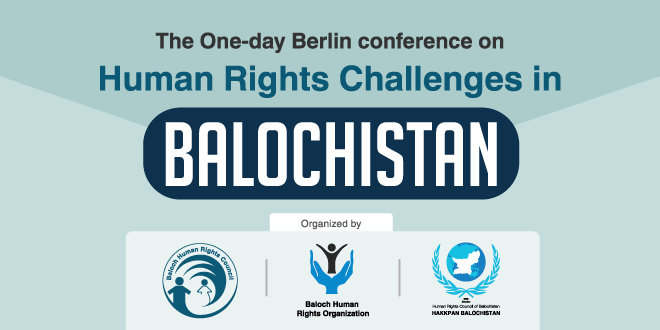 Berlin Conference Declaration: the humanitarian challenges in Balochistan