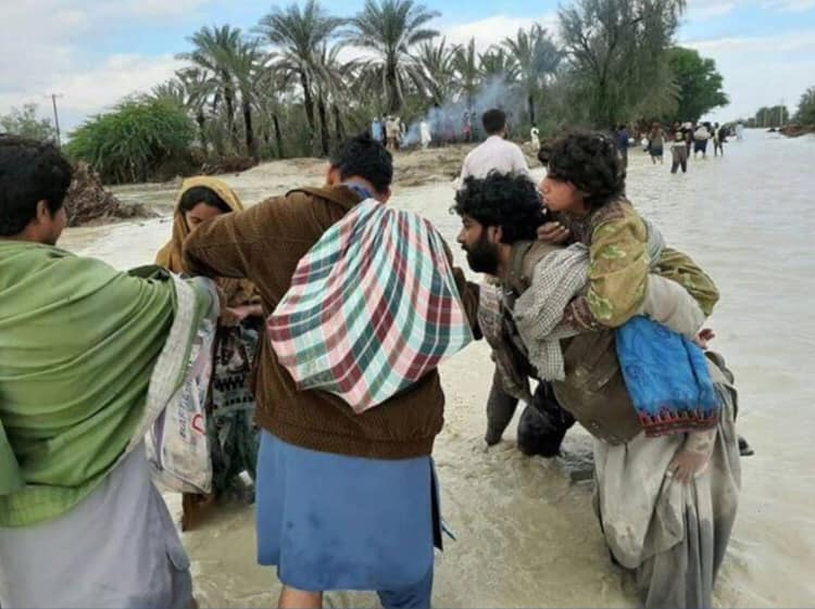 BHRC Appeals for Humanitarian aid to Flood victims in Balochistan