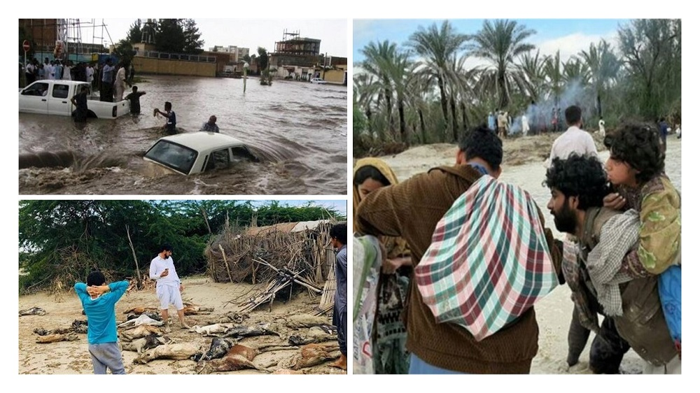 Baloch Human Rights Council raised finance in aid of Flood victims inBalochistan