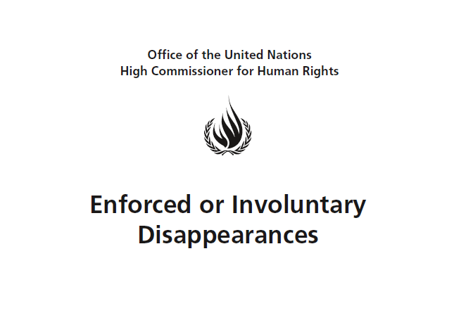 THE UN-WGEID BRIEFED ON Enforced disappearances in BALOCHISTAN